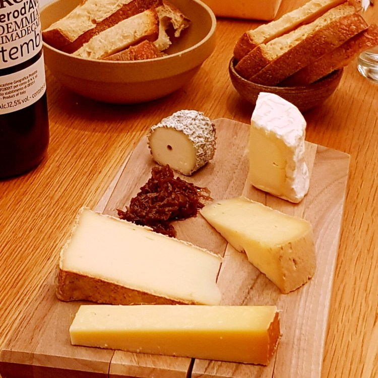 Cheese and wine store