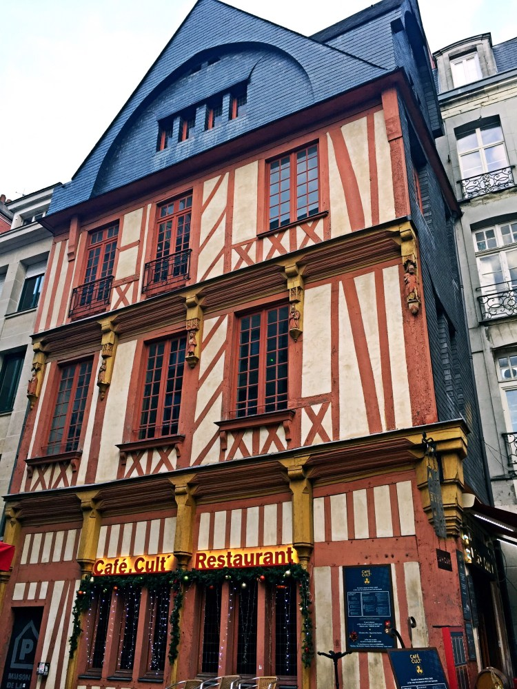 Timber framed house in Nantes - things to do in Nantes