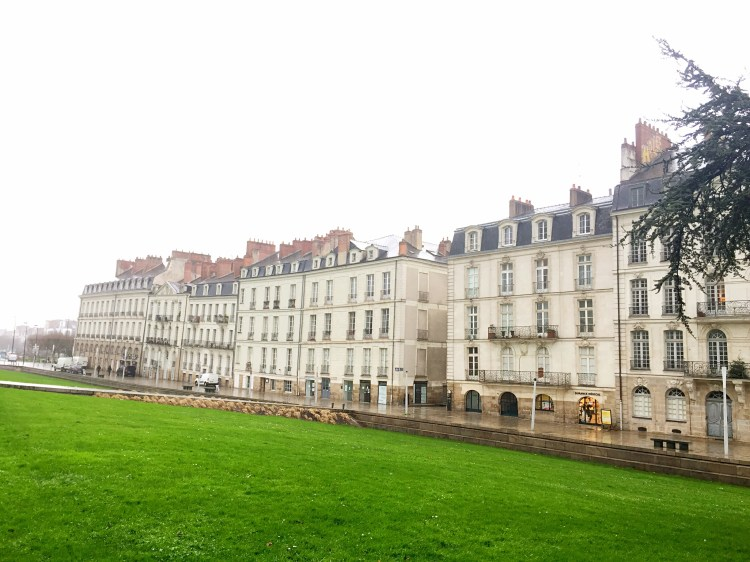 Leaning buildings of Ile Feydeau - things to do in Nantes