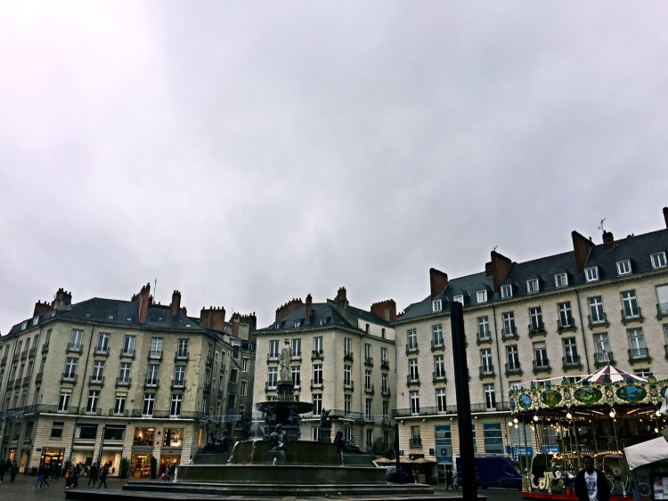Place Royale with its fountain, Nantes