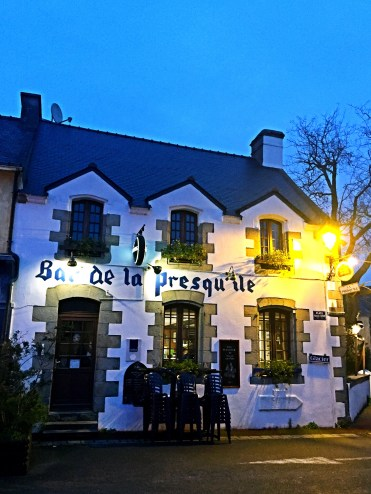 Cafe - St Gildas de Rhuys - off the beaten track