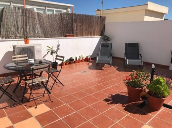 Terrace - airbnb - best things about Malaga