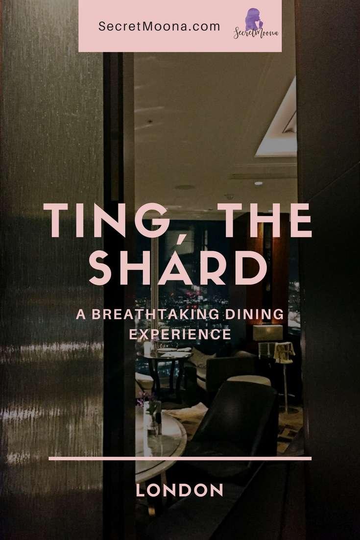 Dining experience at Ting, the Shard - Ting Shard