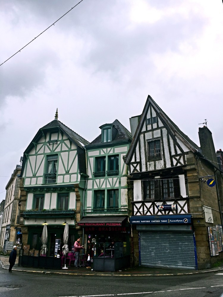 Half-timbered houses - Auray Brittany
