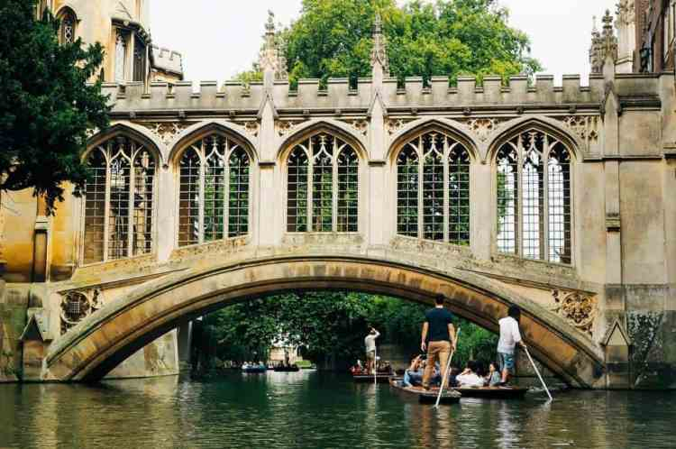 Cambridge - day trips from London