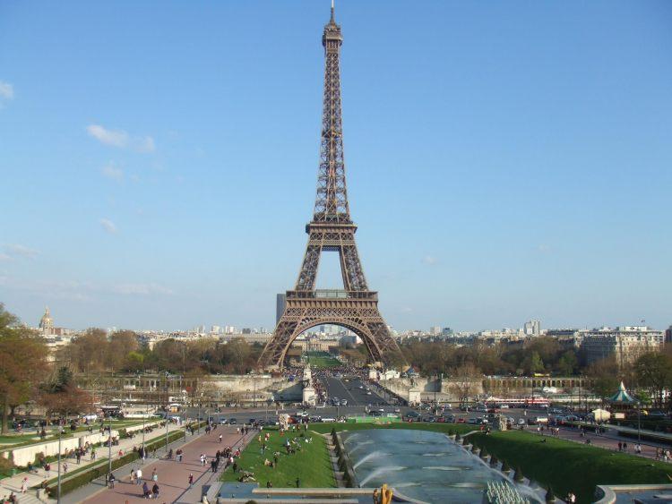 Paris Eiffel Tower - day trip from London