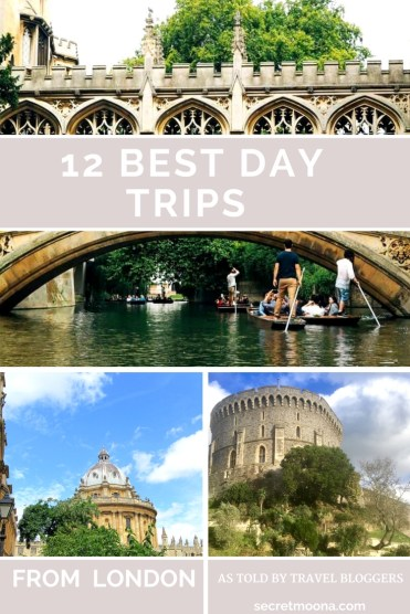 Want to see more of England, or perhaps, get away from the busy capital? Here are our selections of 12 best trips from London to get you started. #London #UKTravel