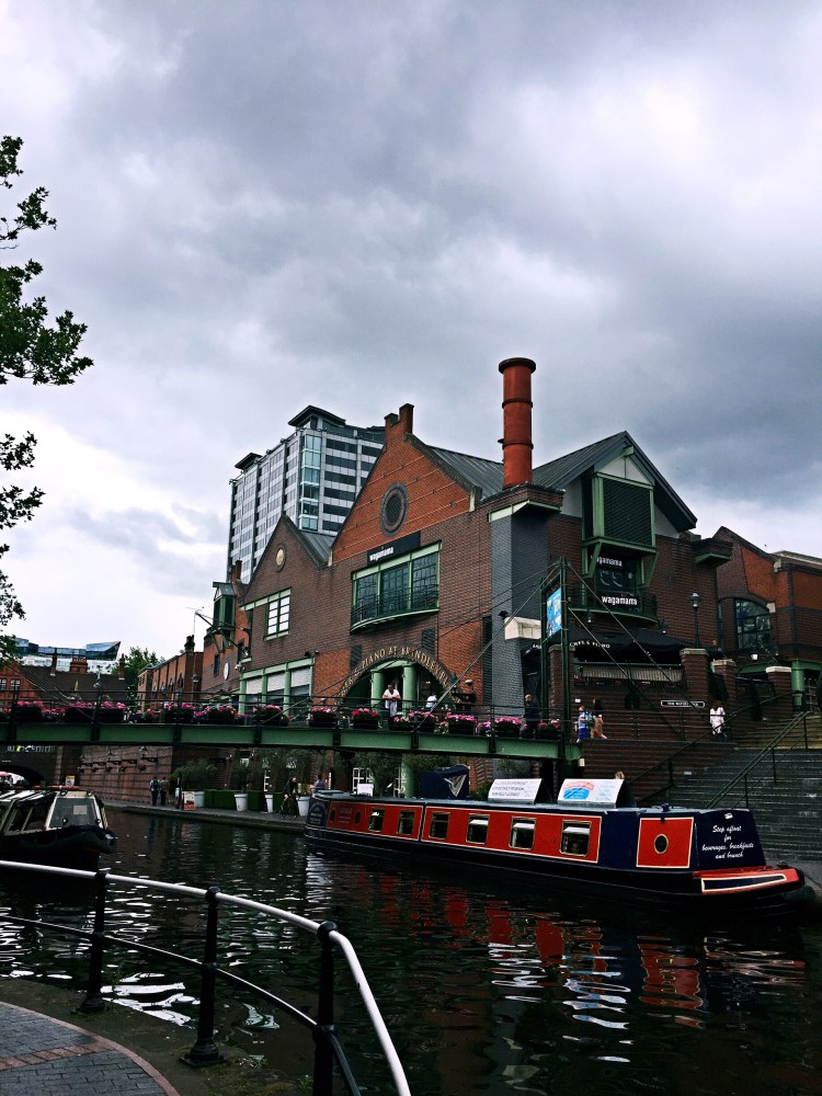 To do in Birmingam - Brindley Place