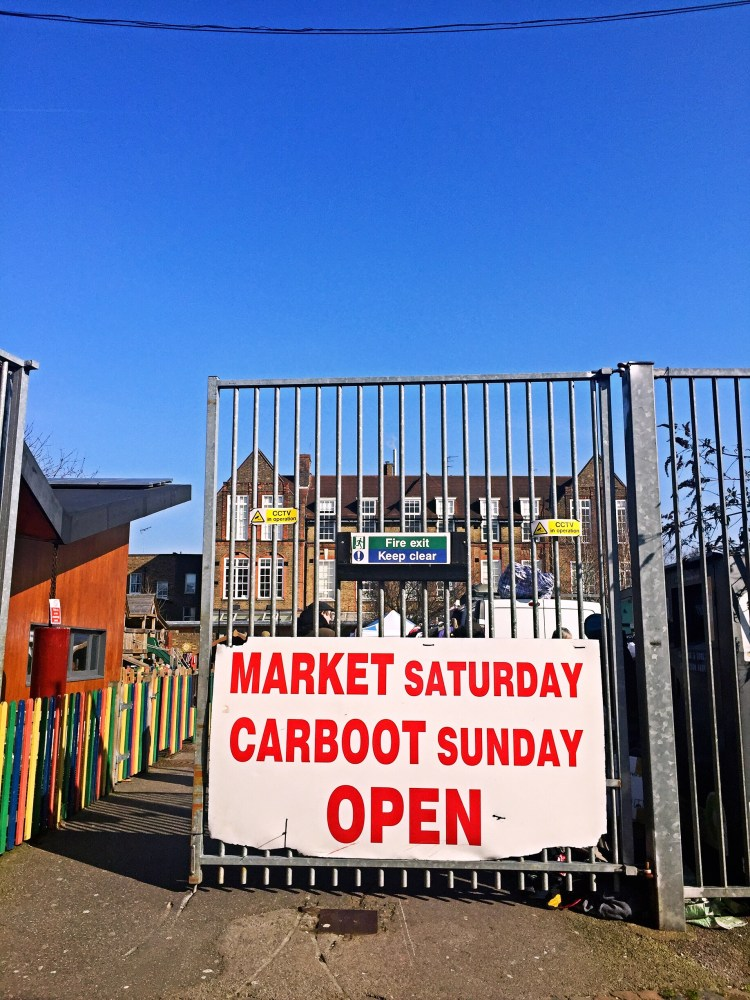 Car boot sale - local in Holloway Road