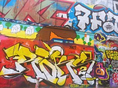 Colourful murals - self-guided tour of Belleville and Ménilmontant