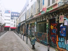 Graffiti street - self-guided tour of Belleville and Ménilmontant