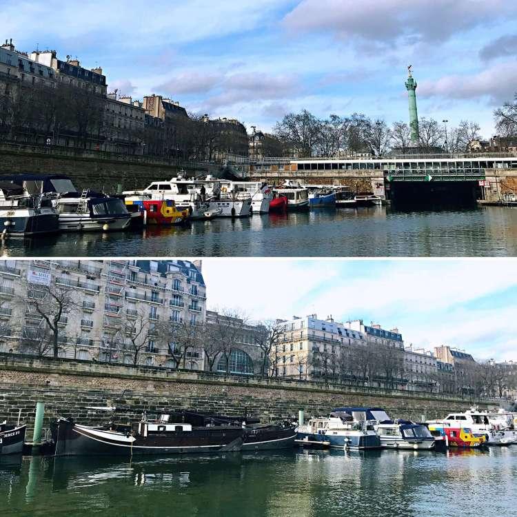 Port de l'Arsenal - Walking tour Le Marais