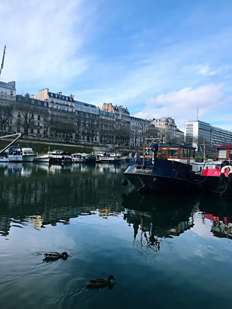 Bassin de l'Arsenal - Walking tour Le Marais