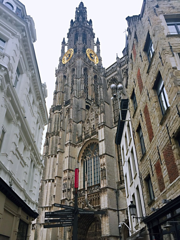 View of Our Lady's tower - 24 Hours in Antwerp