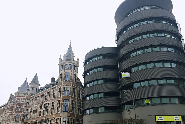 Old and new buildings - 24 Hours in Antwerp