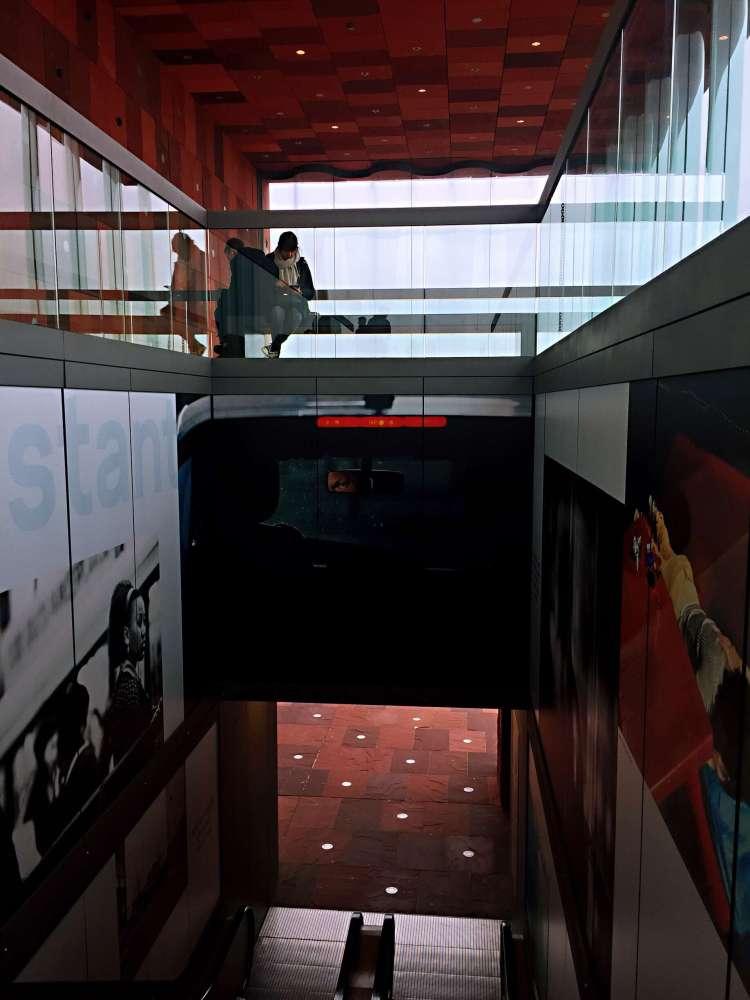 MAS escalator - 24 Hours in Antwerp