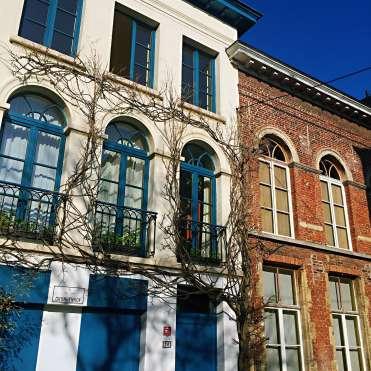 Cute houses in Patershol - reasons to visit Ghent