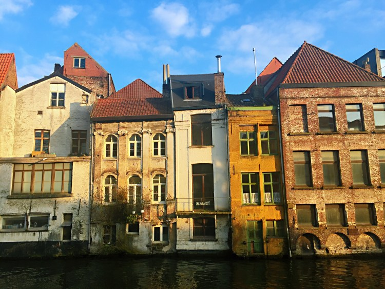 Old houses in Ghent - Belgium photo diary