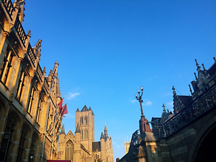 Ghent's towers - Belgium photo diary