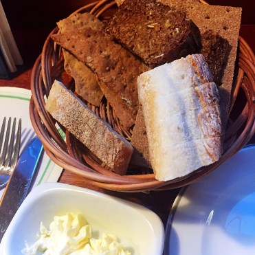 Bakfickan's bread selection - a day in Stockholm