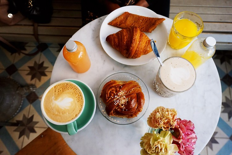 Breakfast at Fabrique - one day in Stockholm