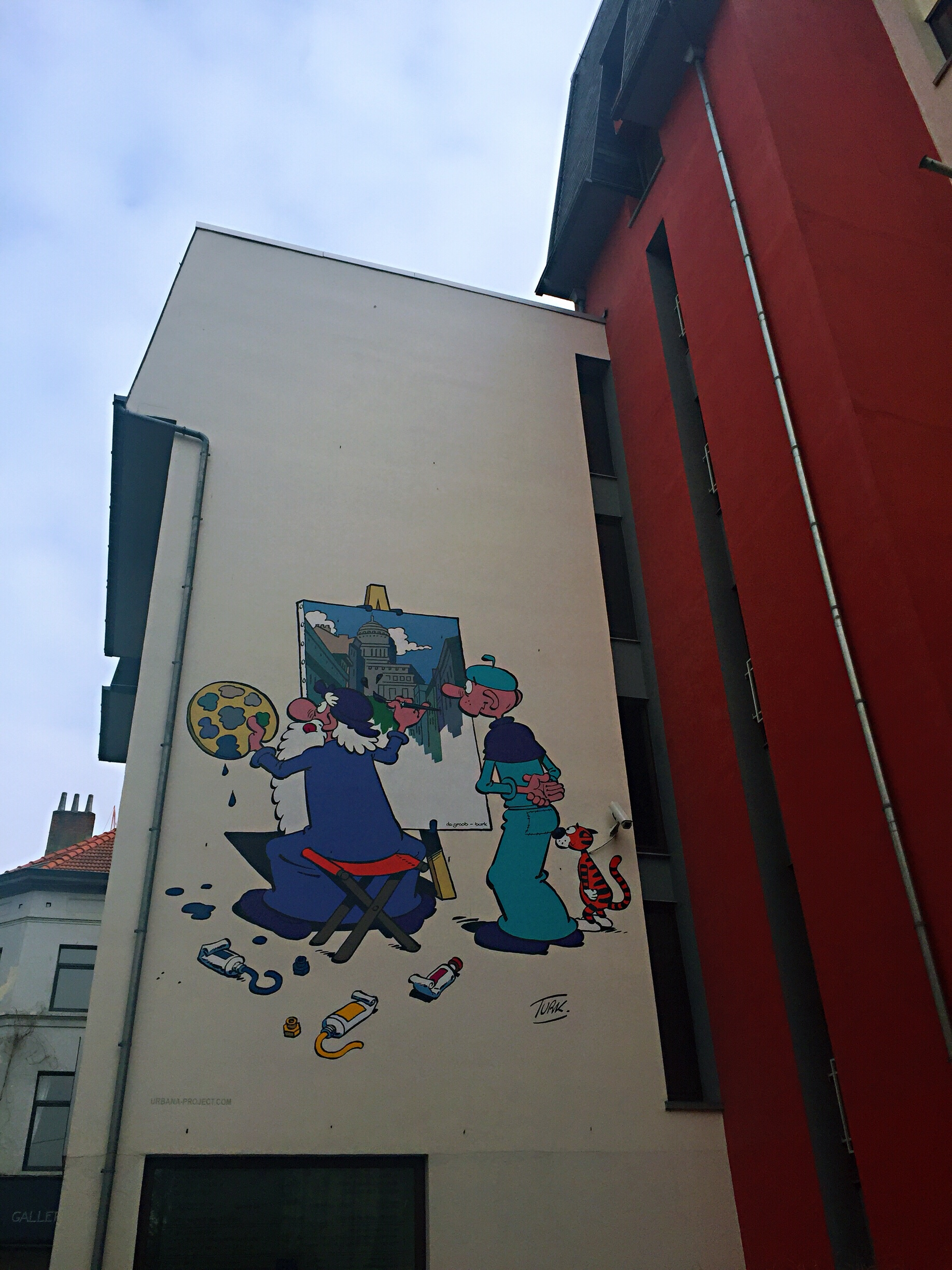 Comic strip in Brussels - Brussels attractions