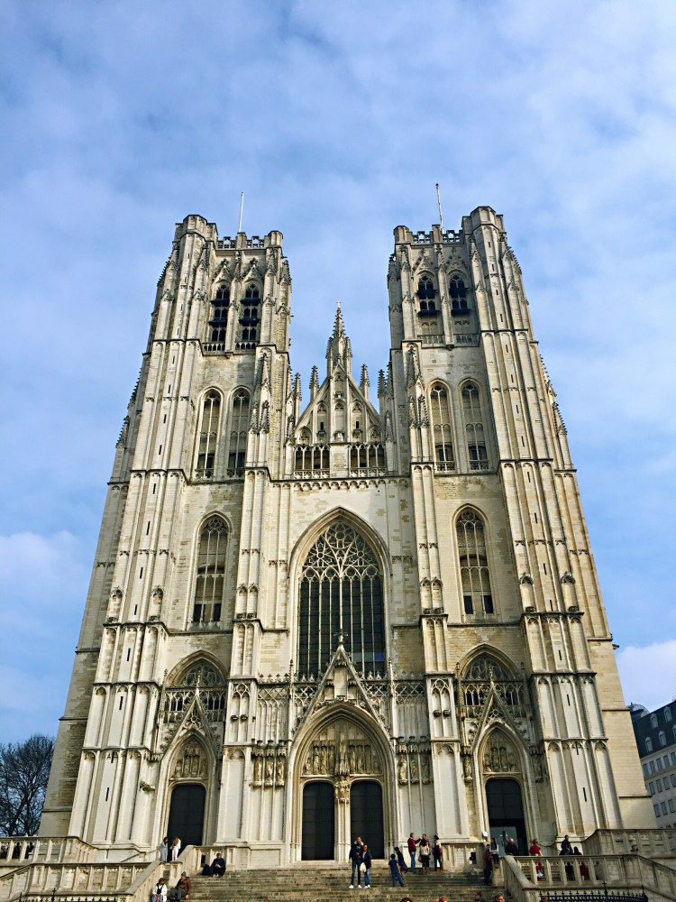 Cathedral St. Michael and St. Gudule - Brussels attractions