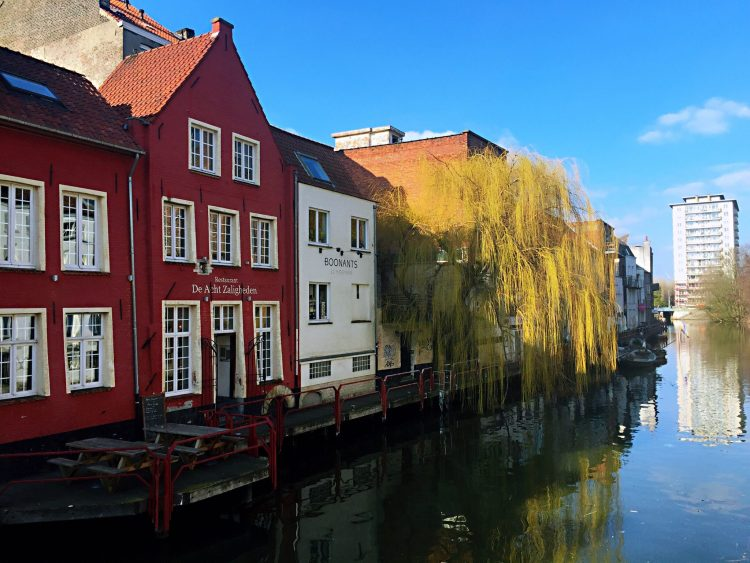 Lovely Ghent's canal - Belgium photo diary