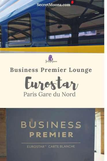 Eurostar Business Premier Lounge Paris Gare du Nord