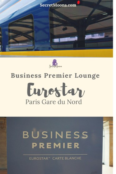 Eurostar Business Premier Lounge Paris Gare du Nord