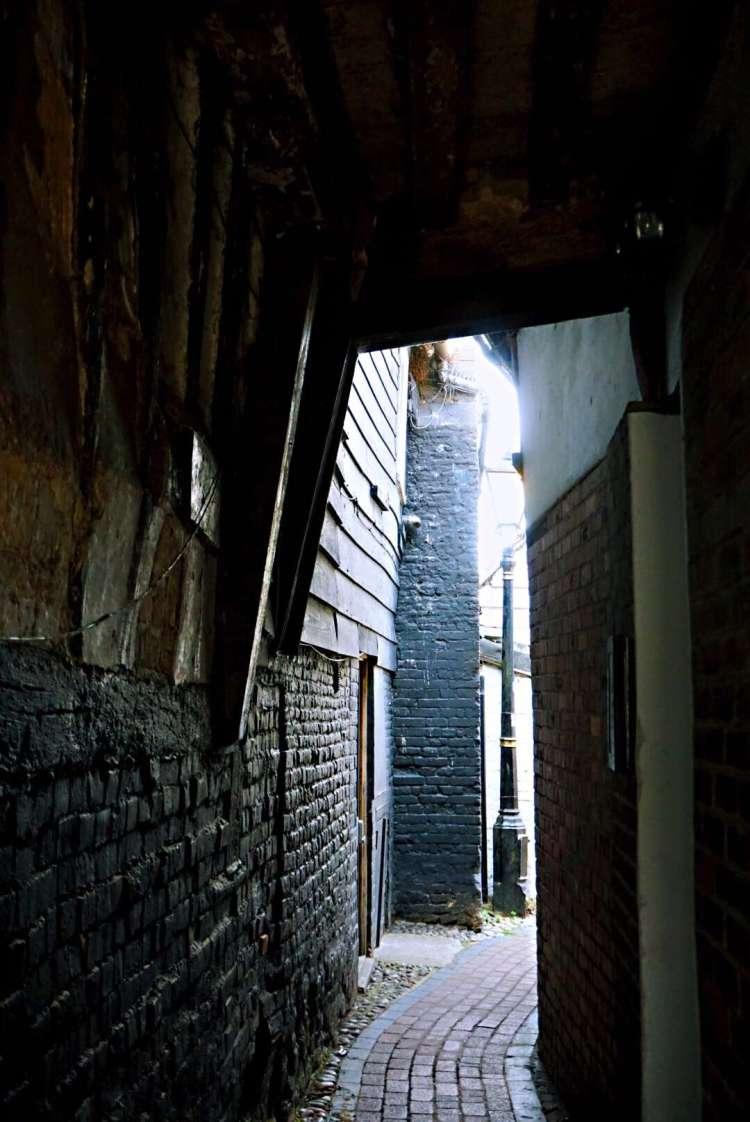 Little alleyway in Rye - Rye East Sussex