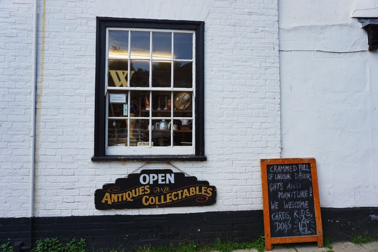 Antique shop in Rye - Rye East Sussex