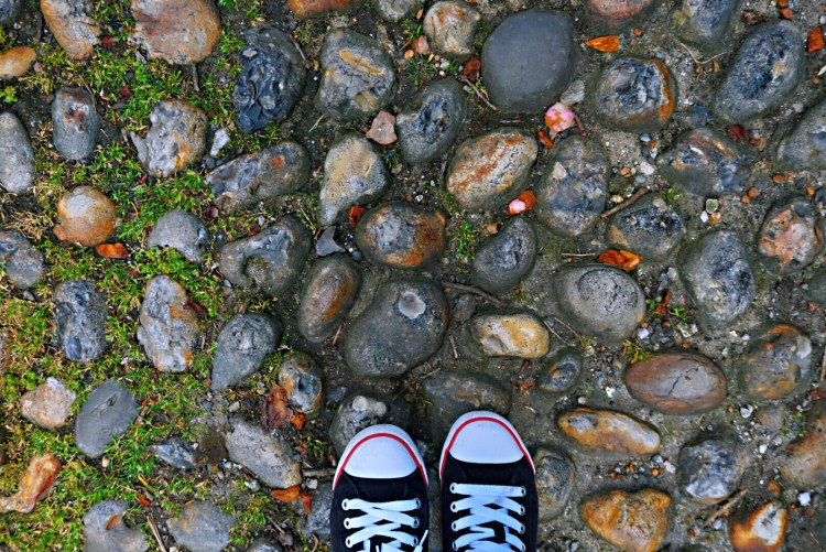 Cobbled stones - Rye East Sussex