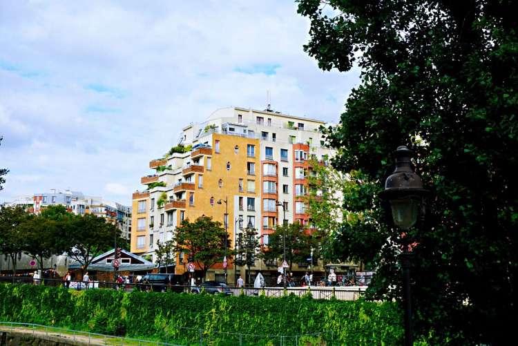 Nice building - Canal saint martin