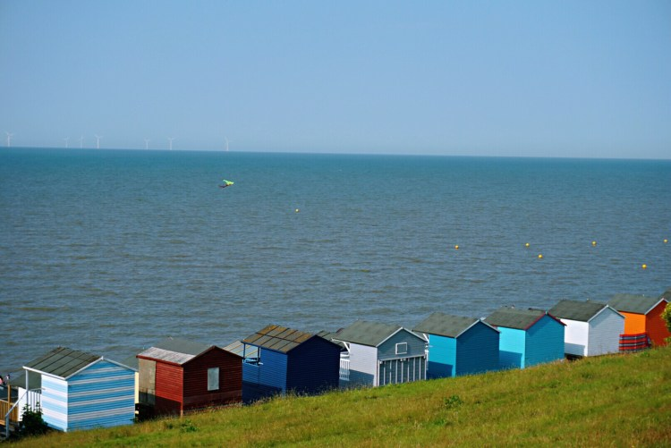 Tankerton beach huts - Whitstable day trip seaside town things to do