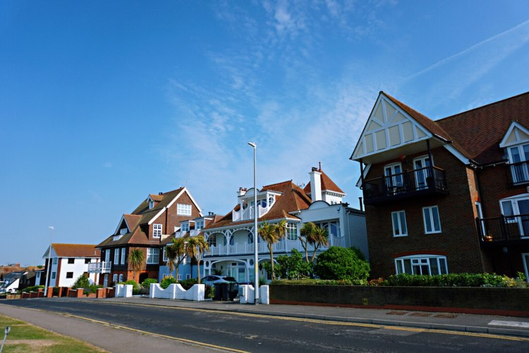 Tankerton townhouses - Whitstable day trip seaside town things to do