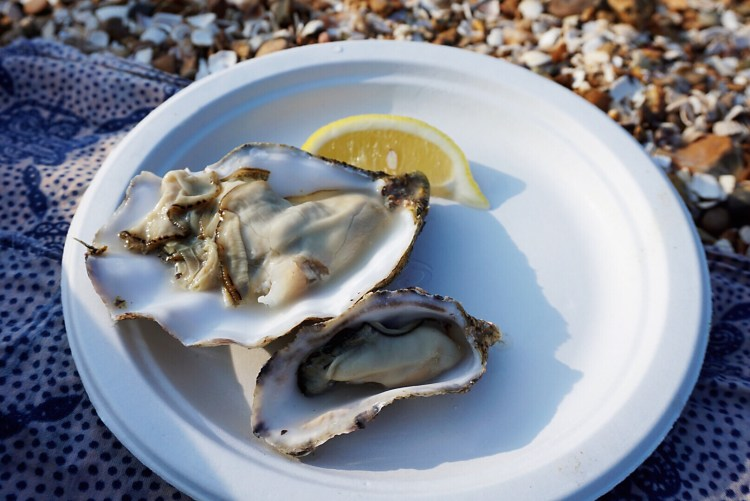 The Forge's oysters - Whitstable day trip seaside town things to do