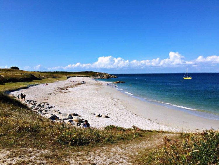 Hoëdic Beach, Brittany - Nice beaches in France
