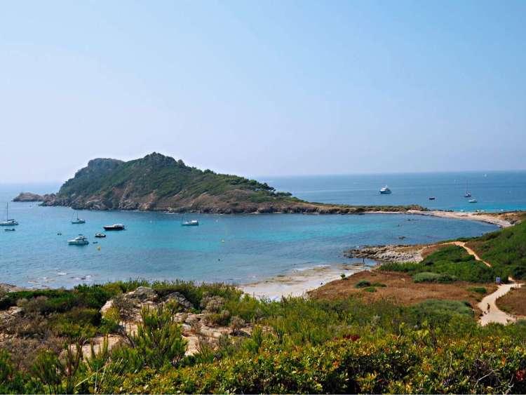 L'escalet Beach, St Tropez - Nice beaches in France