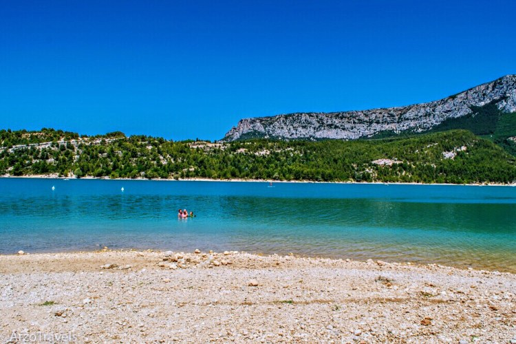 Gorge du Verdon, Provence - Nice beaches in France