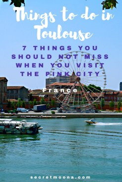 Things to do in Toulouse, France. Blue, pink and violet: these are Toulouse's colours. From the banks of the river Garonne to the pink coloured buildings in the old town and the Capitole square, discover the things to do in Toulouse and especially the 7 things you shouldn't miss out when you visit the Pink City.