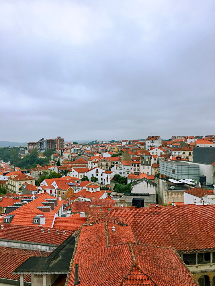 Coimbra view from above - One day in Coimbra