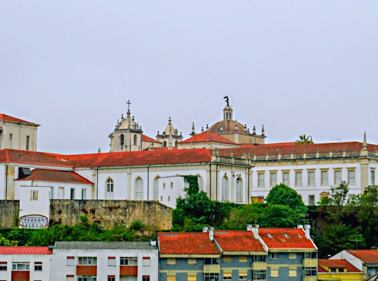 View of Coimbra University - One day in Coimbra