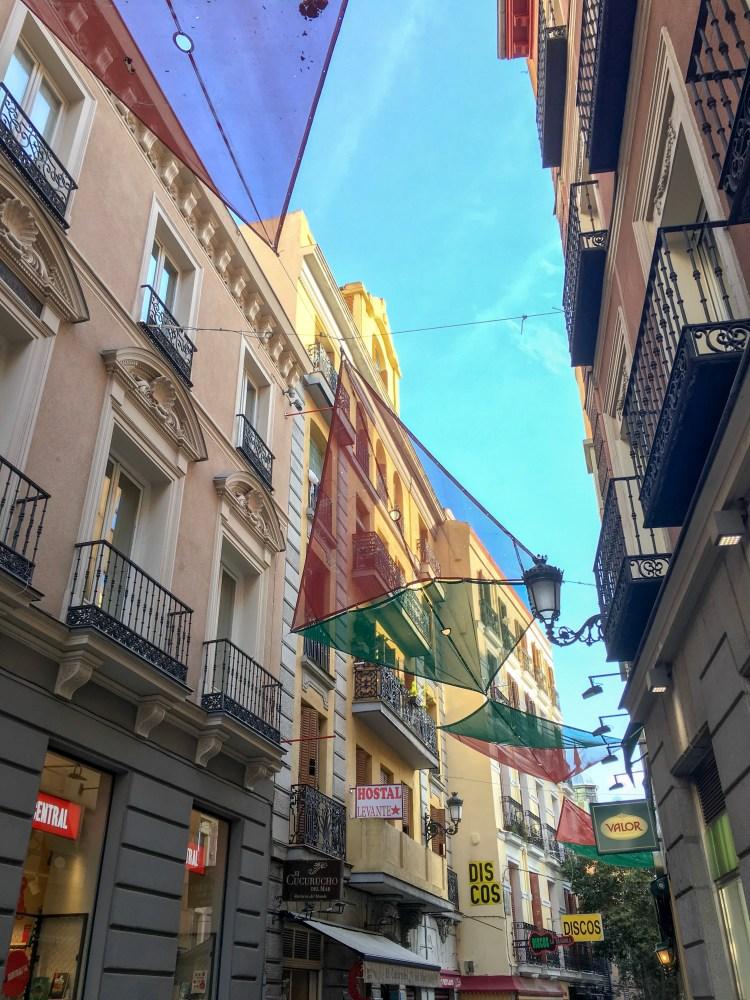 Street in Puerta del Sol- Weekend breaks in Madrid