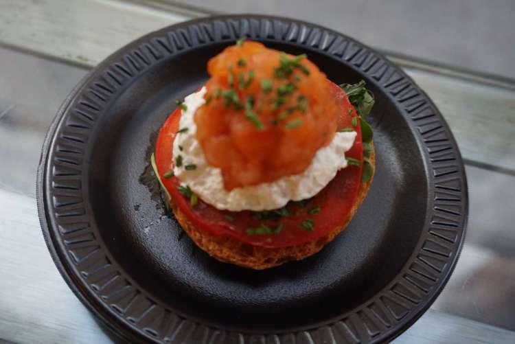 Mozzarella and salmon tapas - Weekend breaks in Madrid