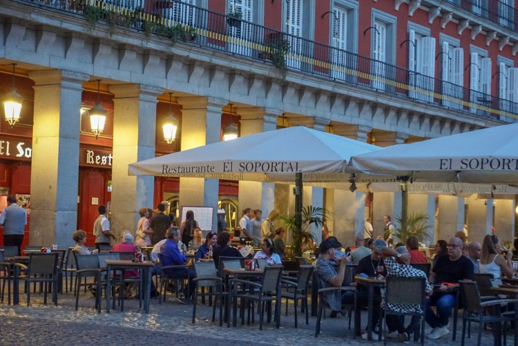 Restaurant El Soportal in Plaza Mayor - Weekend breaks in Madrid