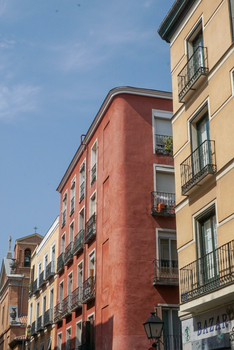 Red building in Madrid - Weekend breaks in Madrid