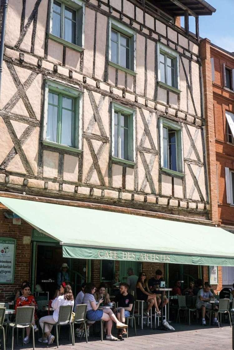 Cafe des Artistes - Toulouse travel guide