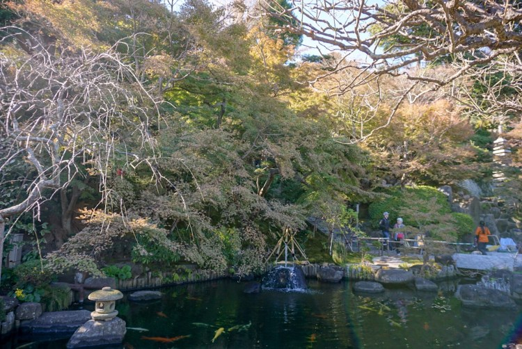 Hasedera Temple Garden - Kamakura day trip