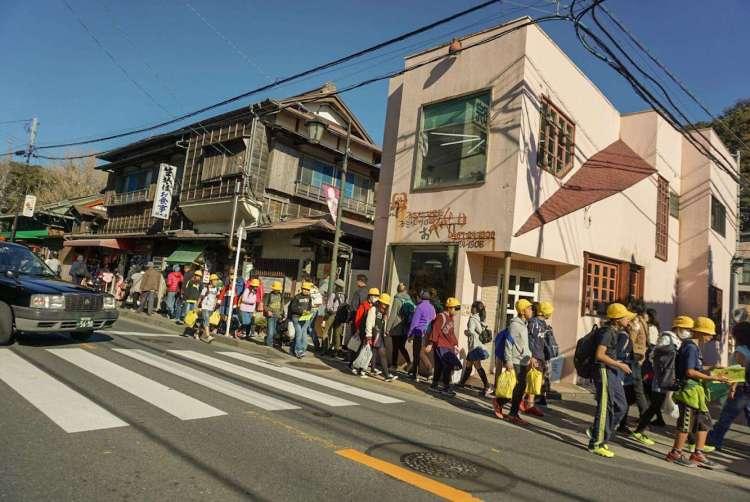 School trip - Kamakura day trip